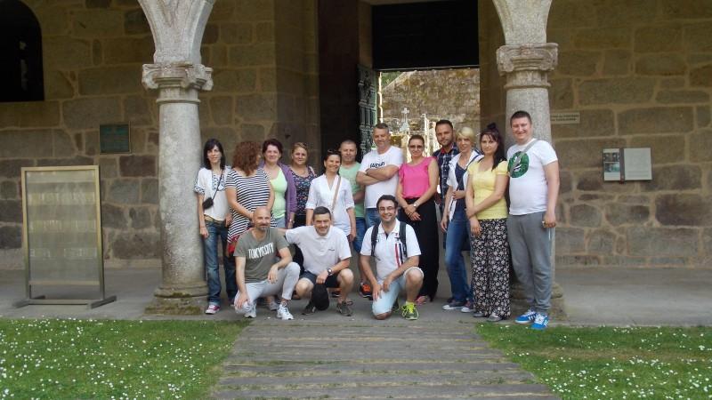 Prima vizită transnațională de studiu în Spania