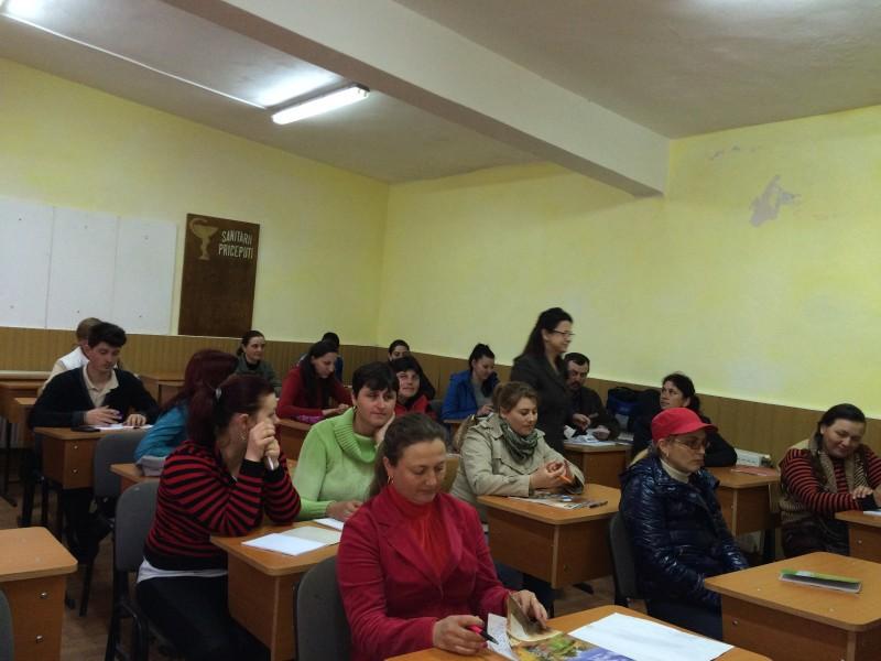 Finalizare curs de calificare OSPĂTAR